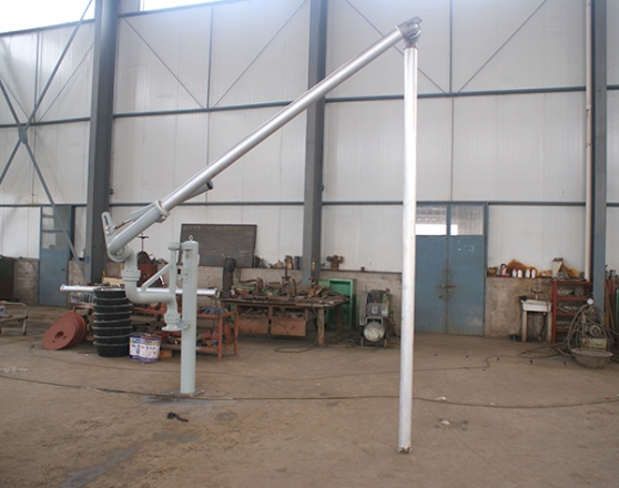 Light unloading aluminum crane tube